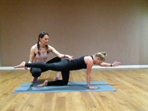 Pilates consultation Back