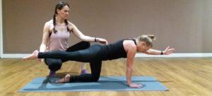 Pilates one to one balance